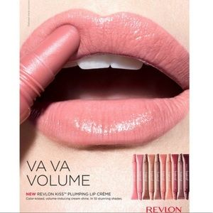 NEW! Revlon Kiss Lip Balm Plumping Creme Gloss